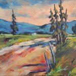 Douce heure- Les Grands-Jardins (Acrylique-12x16) 450$